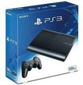 【中古】PS3ハード プレイステーション3本体 チャコール・ブラック(HDD 500GB)[CECH-4300C]【画】