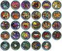 【中古】妖怪メダル [コード保証無し] 29種ノーマルコンプセット 「妖怪ウォッチ 妖怪メダル第3章 ~進化妖怪のヒ・ミ・ツ~」
