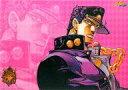 【中古】デスクマット 空条承太郎(横長/背景ピンク) ビジュアルマット 「一番くじ ジョジョの奇妙な冒険Part3 スターダストクルセイダース〜やれやれだぜ〜」 H賞