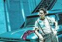 【中古】生写真(男性)/歌手/EXILE EXILE/AKIRA/横型 膝上 衣装白グレー 青色加工 車 /ポストカードサイズ/月刊EXILE定期購読特典生写真2013年10月