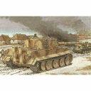 【中古】プラモデル 1/35 WW.II ドイツ軍 ティーガーI 中期生産型 w/ツィメリットコーティング [CH6700]