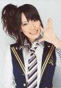 【エントリーでポイント10倍!(9月26日01:59まで!)】【中古】生写真(AKB48・SKE48)/アイドル/AKB48 松井咲子/上半身・衣装紺白・左手パー・左手頬・笑顔/公式生写真
