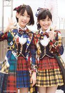 【中古】生写真(AKB48・SKE48)/アイドル/AKB48 宮脇咲良・渡辺麻友/CD「希望的リフレイン」TOWER RECORDS特典