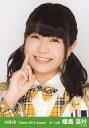 【中古】生写真(AKB48・SKE48)/アイドル/AKB48 横島亜衿/バストアップ・右手頬/劇場トレーディング生写真セット2014.August
