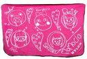 【中古】抱き枕カバー・シーツ(女性) ももクロメンバー直筆似顔絵イラストバージョン BIGフリースブランケット(ピンク) 「NYLON JAPAN×ももいろクローバーZ」 NYLON JAPAN PREMIUM BOX Vol.4同梱品