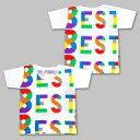 Tシャツ(男性アイドル) 関ジャニ∞ Tシャツ ホワイト 「KANJANI∞ LIVE TOUR!! 8EST 〜みんなの想いはどうなんだい?僕らの想いは無限大!!〜」