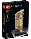 【中古】おもちゃ LEGO フラットアイアンビルディング 「レゴ アーキテクチャー」 21023の画像