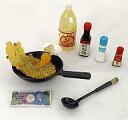 食玩 トレーディングフィギュア 炒飯 「ぷちサンプルシリーズ お母さんの台所」