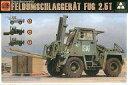 【新品】プラモデル 1/35 ドイツ連邦 軍用重フォークリフト FUG 2.5t [TKO2021]【画】