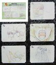 【中古】アニメムック 銀魂 GINTAMA 原画シートセレクション F 5枚セット【中古】afb