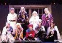 【エントリーでポイント10倍!(2月16日01:59まで!)】【中古】生写真(男性)/俳優 集合(9人)/横型・全身・前列座り・良知腕組み・キャラクターショット/超歌劇「幕末Rock」特典生写真