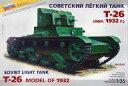 【中古】プラモデル 1/35 T-26(1932) SOVIET LIGHT TANK -ソビエト連邦 軽戦車 T-26(1932)-