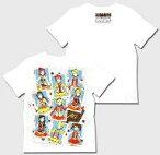 【中古】Tシャツ(キャラクター) μ's Tシャツ ホワイト 男性向けLサイズ 「一番くじ ラブライブ! The School Idol Movie」 ラストワン賞