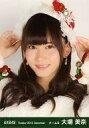 【中古】生写真(AKB48 SKE48)/アイドル/AKB48 大場美奈/バストアップ 両手帽子/劇場トレーディング生写真セット2013.December