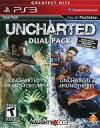 【中古】PS3ソフト 北米版 UNCHARTED DUAL PACK GREATEST HITS (国内版本体可)