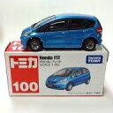 【中古】ミニカー 1/60 Honda フィット トミカ No.100