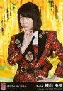 【中古】生写真(AKB48 SKE48)/アイドル/AKB48 横山由依/「唇にBe My Baby」衣装(赤 黒 チェック柄)/CD「唇にBe My Baby」劇場盤特典生写真