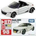 【中古】ミニカー Honda S660(ホワイト) 「トミカ No.98」