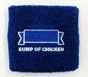 【中古】アクセサリー(非金属)(男性) BUMP OF CHICKEN リストバンド(ブルー) 「2008 TOUR ホームシック衛星/ホームシップ衛星」