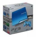 【中古】PS3ハード プレイステーション3本体 スプラッシュ・ブルー(HDD 320GB/CECH-3000BSB)(状態:コントローラー欠品)