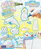 【予約】おもちゃ あわモコ3Dシート 水族館【画】