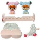 【新品】おもちゃ ふたごの赤ちゃんとベビールームセット 「こえだちゃん」【02P09Jul16】【画】