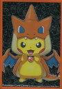 【中古】サプライ ポケモンカードゲーム デッキシールド(スリーブ) ポケモンセンターメガトウキョーのピカチュウ オレンジver