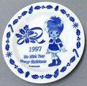 【中古】皿 茶碗(キャラクター) 虹野沙希 ときめきクリスマスプレート 「ときめきメモリアル」
