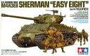【中古】プラモデル 1/35 アメリカ戦車 M4A3E8 シャーマン イージーエイト(人形4体付き) [25175]