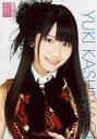 【中古】生写真(AKB48 SKE48)/アイドル/AKB48 柏木由紀/バストアップ 衣装赤 黒 チェック柄/AKB48オフィシャルショップ(原宿)限定A4サイズ生写真ポスター 第18弾