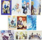 【中古】ポストカード(キャラクター) 赤髪の白雪姫 ポストカードコレクション(10枚セット) LaLa 2015年8月号付録