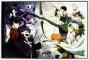 【中古】紙製品(キャラクター) 集合(コスプレ) イラストポートレート 「3DSソフト ハイキュー!! Cross team match!」 アニメイト購入特典【画】