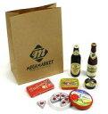 【中古】食玩 トレーディングフィギュア 2.ビールでオードブルセット 「ミニコレ 輸入マーケット」