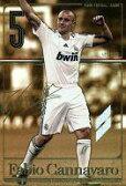 【中古】パニーニ フットボールリーグ/L/DF/Real Madrid/2014 01[PFL05] PFL05 167/168 [L] : [コード保証無し]ファビオ・カンナバーロ【画】