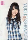 【中古】生写真(AKB48 SKE48)/アイドル/AKB48 柏木由紀/上半身 チェック/AKB48オフィシャルショップ(原宿)限定A4サイズ生写真ポスター