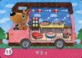 【中古】どうぶつの森amiiboカード/とびだせ どうぶつの森 amiibo+ 13 : マミィ