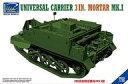 【中古】プラモデル 1/35 英・ユニバーサルキャリアMk.I型3インチ迫撃砲搭載型 [RC35017]