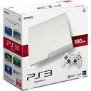 【中古】PS3ハード プレイステーション3本体 クラシック・ホワイト(HDD 160GB/CECH-3000ALW)(状態:内箱欠品)