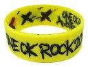 【中古】アクセサリー(非金属)(男性) ONE OK ROCK ラバーバンド(イエロー) 「ONE