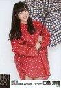 【中古】生写真(AKB48・SKE48)/アイドル/HKT48 田島芽瑠/膝上・傘・レインコート/2015年6月net Shop限定 個別生写真 2015.06
