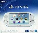 【中古】PSVITAハード PlayStaiton Vita本体 Wi-Fiモデル ライトブルー ホワイト PCH-2000 (状態:本体状態難)