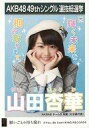 【中古】生写真(AKB48・SKE48)/アイドル/AKB48 山田杏華/CD「願いごとの持ち腐れ」劇場盤特典生写真