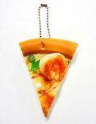 【新品】スクイーズ(食品系/キーホルダー) シーフードピザ 「1カットピザ リアルスクイーズBC」【タイムセール】