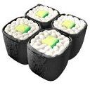 【新品】スクイーズ(食品系/キーホルダー) かっぱ巻き 寿司ひかり プニプニマスコット