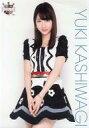 【中古】生写真(AKB48 SKE48)/アイドル/AKB48 【ランクB】柏木由紀/膝上 衣装白.黒 花柄/AKB48 CAFE & SHOP限定 A4サイズ生写真ポスター 第64弾