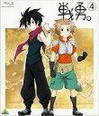 【中古】アニメBlu-ray Disc 戦勇。 第4巻 初回版