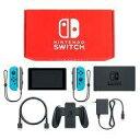 【中古】ニンテンドースイッチハード Nintendo Switch本体 カラーカスタマイズ /Joy-Con(L/R)ネオンブルー/Joy-Conストラップ(L/R)グレー
