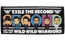 """【中古】タオル 手ぬぐい(男性) EXILE THE SECOND フェイスタオル 「EXILE THE SECOND LIVE TOUR 2016-2017 """"WILD WILD WARRIORS""""」 追加グッズ"""