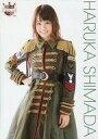【中古】生写真(AKB48 SKE48)/アイドル/AKB48 島田晴香/膝上 赤黒金緑衣装 A4サイズ/AKB48 CAFE & SHOP限定 A4サイズ生写真ポスター 第115弾【タイムセール】