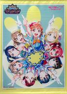 【中古】タペストリー Aqours B2タペストリー 「ラブライブ!サンシャイン!! Aqours First LoveLive! 〜Step! ZERO to ONE〜 Blu-ray Memorial BOX」 ゲーマーズ購入特典